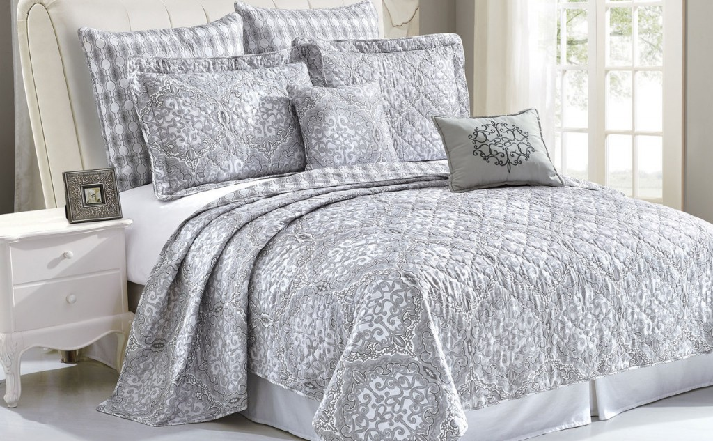 Melody Quilted 7 Piece Bed spread